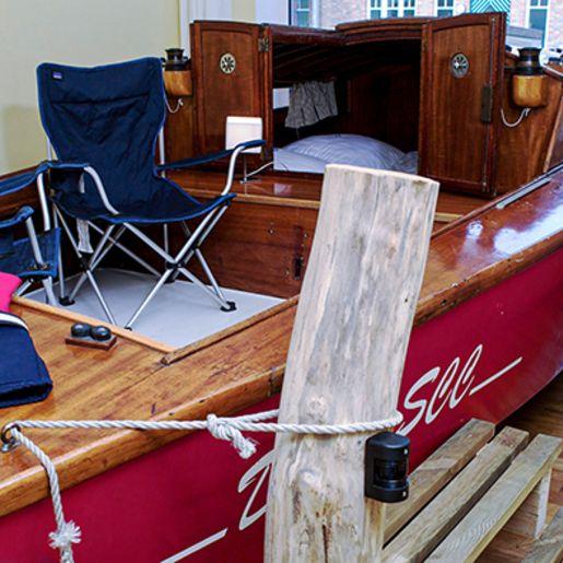 Übernachtung im Segelbootzimmer für 2 (1 Nacht)