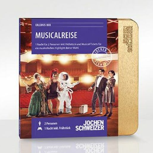 Erlebnis-Box 'Musicalreise für 2'