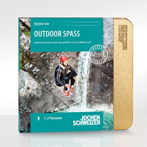 Erlebnis-Box 'Outdoor Spass'
