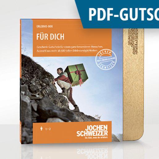 Erlebnis-Box 'Für Dich' als PDF