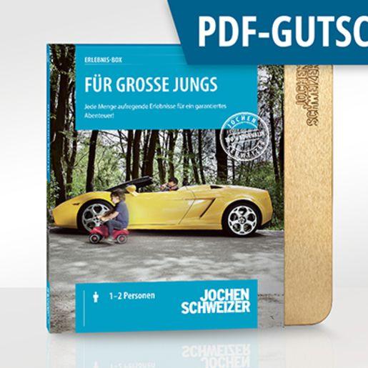 Erlebnis-Box 'Für große Jungs' als PDF