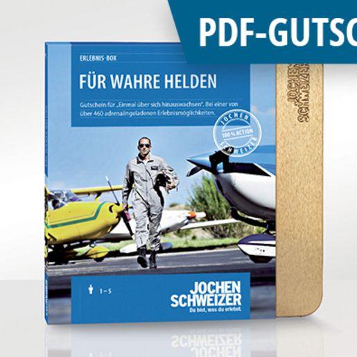 Erlebnis-Box 'Für wahre Helden' als PDF