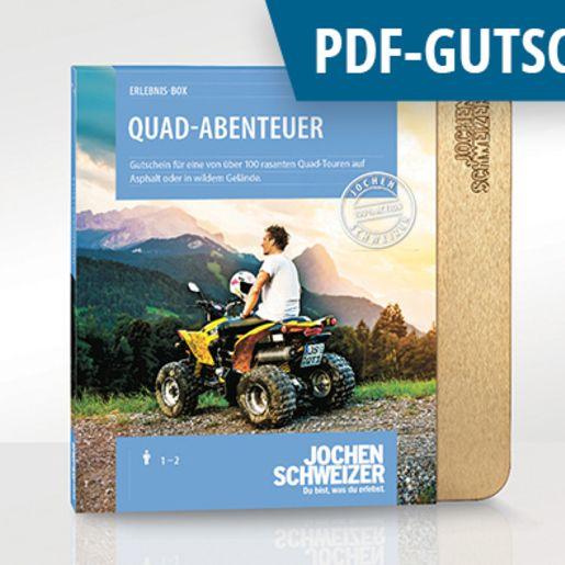 Erlebnis-Box 'Quad Abenteuer' als PDF