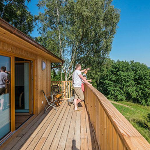 Baumhaus-Übernachtung in Niedersachsen für 2