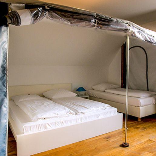 Übernachtung im Campingzimmer für 2 (1 Nacht)