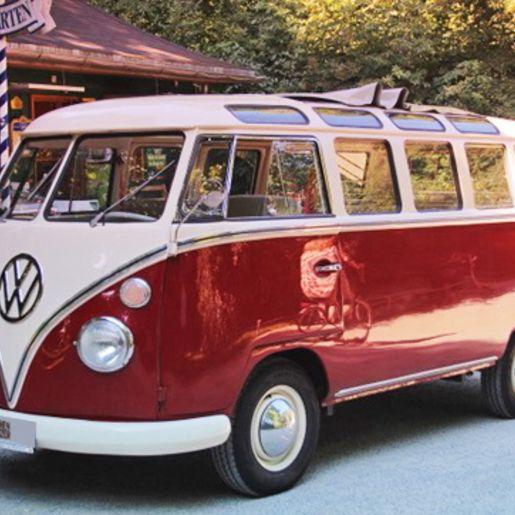 Stadtrundfahrt im VW Bulli durch München