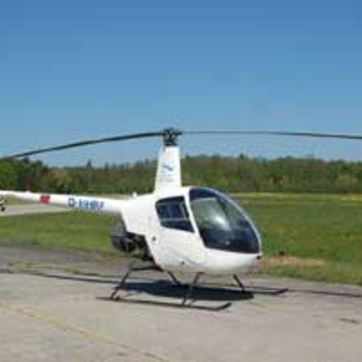 Hubschrauber fliegen Friedrichshafen