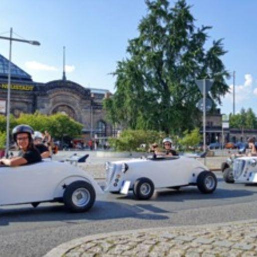 Außergewöhnliche Stadtrundfahrt Dresden