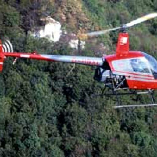 Hubschrauber fliegen Stuttgart