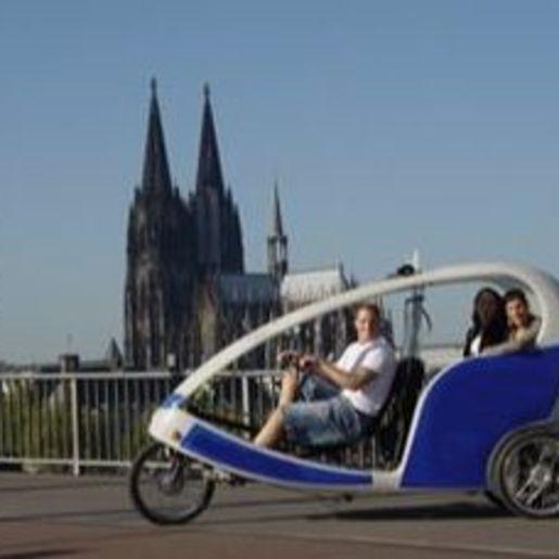 Rikscha-Tour Köln