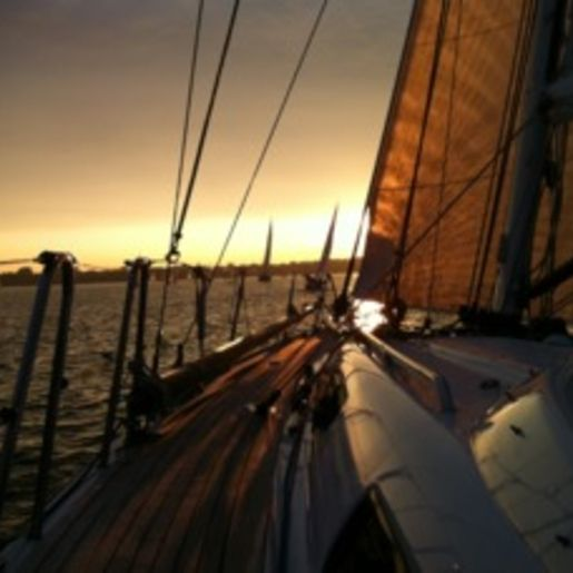 Romantische Segeltörns Stralsund