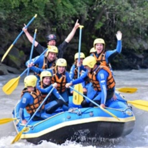 Rafting Pfunds
