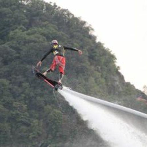 Hoverboarden Ispra, Lago Maggiore