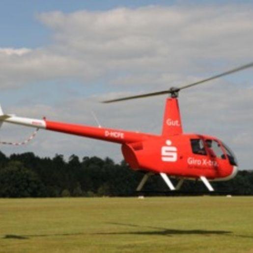 Hubschrauber fliegen Hosenfeld-Jossa