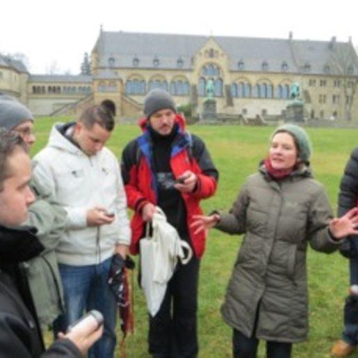 Stadtführung mit Geocaching Goslar