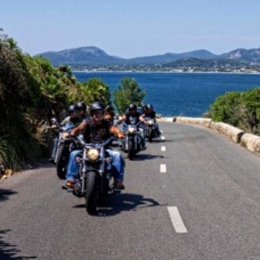Roller- und Motorradtouren Cala Millor