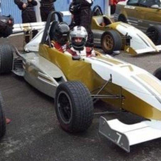 Formel Renntaxi fahren Sachsenring