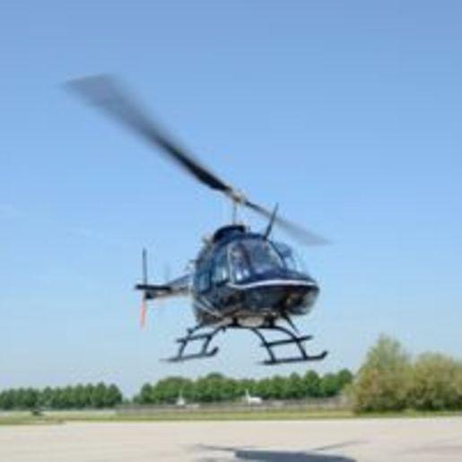 Hubschrauber fliegen Saarlouis