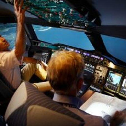 4D-Flugsimulator Oberding-Schwaig