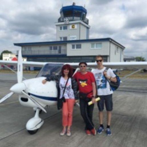 Flugzeug selber fliegen Strausberg