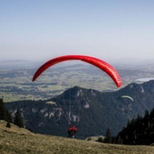 Gleitschirm-Tandemflug Nesselwang