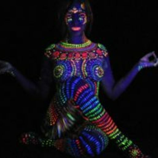 Bodypainting Fotoshooting Farchant