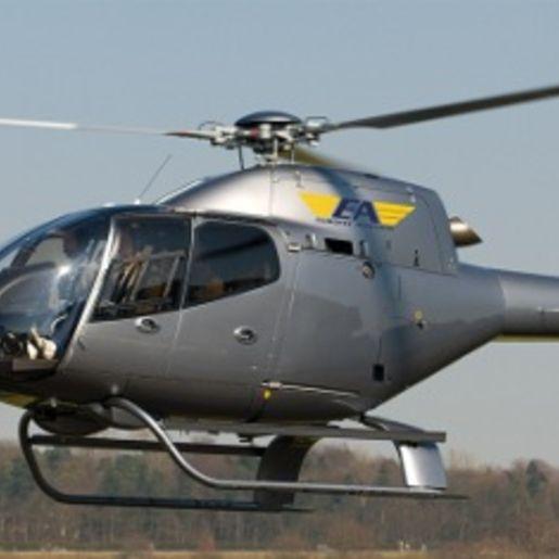 Hubschrauber fliegen Heist
