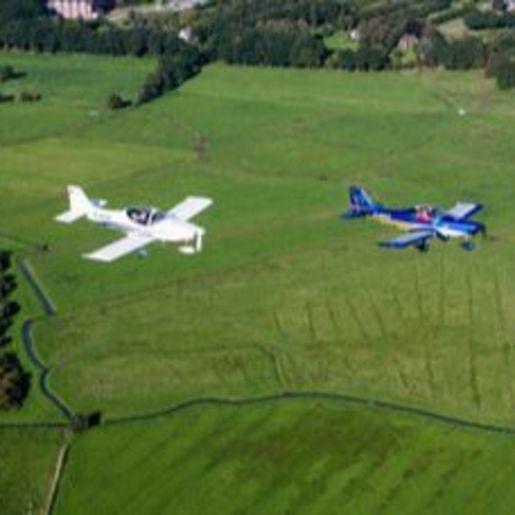 Flugzeug-Rundflug Friedrichshafen