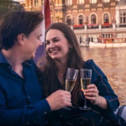 Romantische Bootstour Amsterdam
