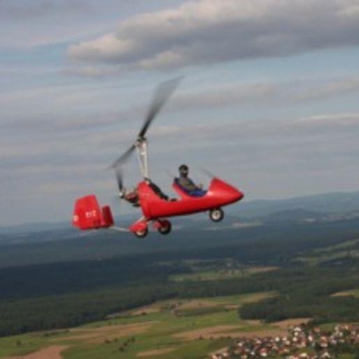Tragschrauber selber fliegen Schwandorf