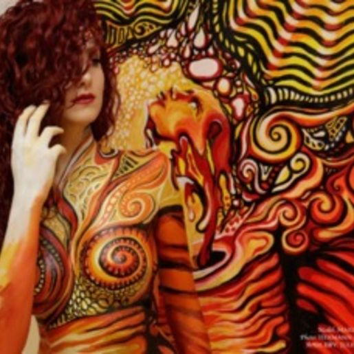 Bodypainting Fotoshooting Lutherstadt Wittenberg