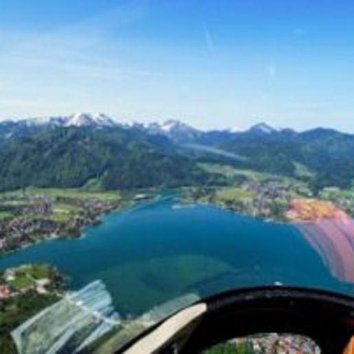 Hubschrauber fliegen Konstanz