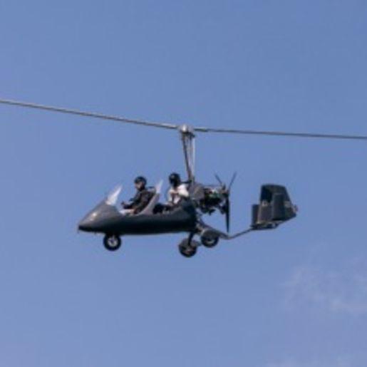Tragschrauber selber fliegen Augsburg