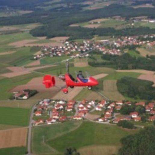 Tragschrauber-Rundflug Schwandorf