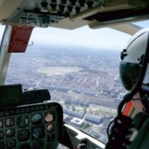 Hubschrauber fliegen Mannheim