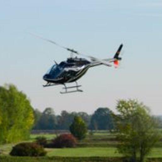 Hubschrauber fliegen Speyer