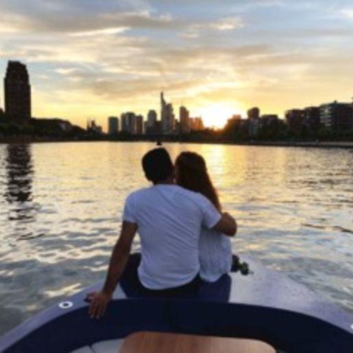 Romantische Bootstour Frankfurt am Main