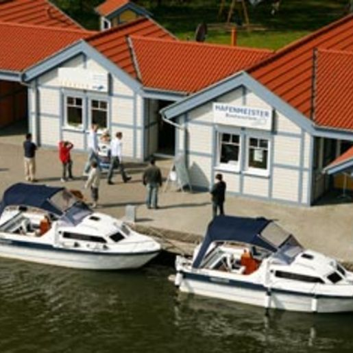 Motorboot fahren Rheinsberg