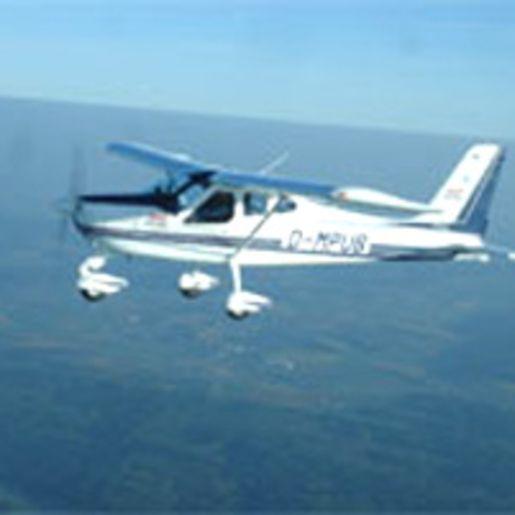 Flugzeug-Rundflug Greding