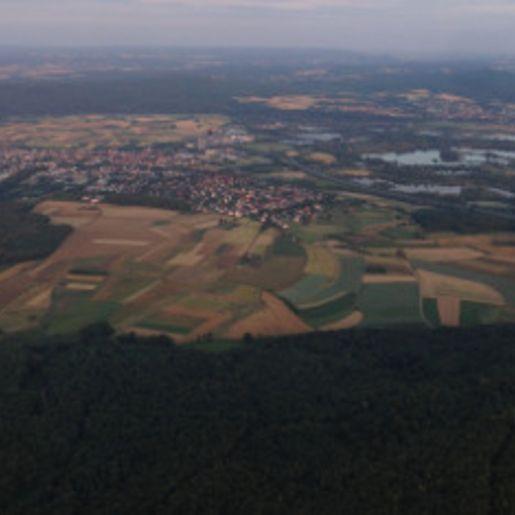 Ballonfahrt Hofheim