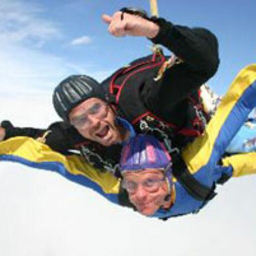 Fallschirm-Tandemsprung Leutkirch im Allgäu