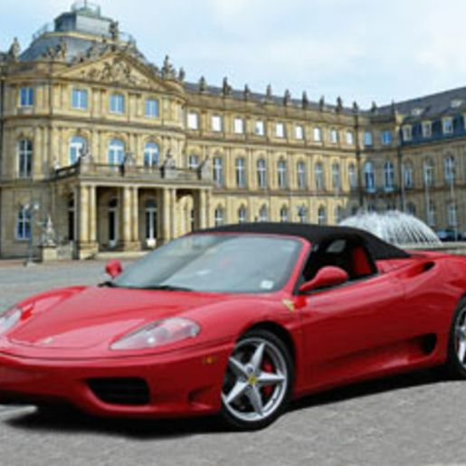 Ferrari fahren Stuttgart