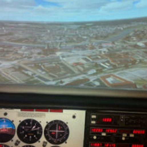 3D-Flugsimulator Dresden