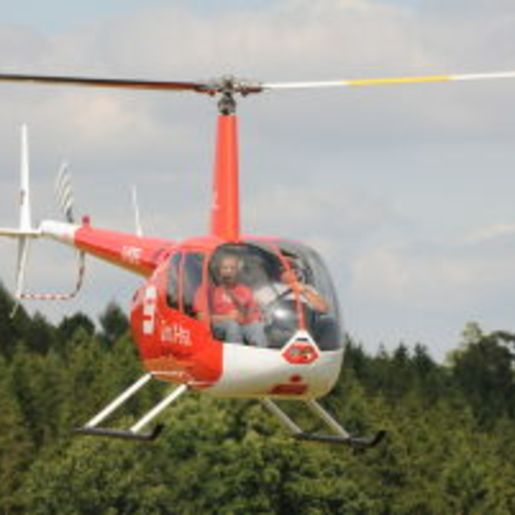 Hubschrauber fliegen Lauterbach