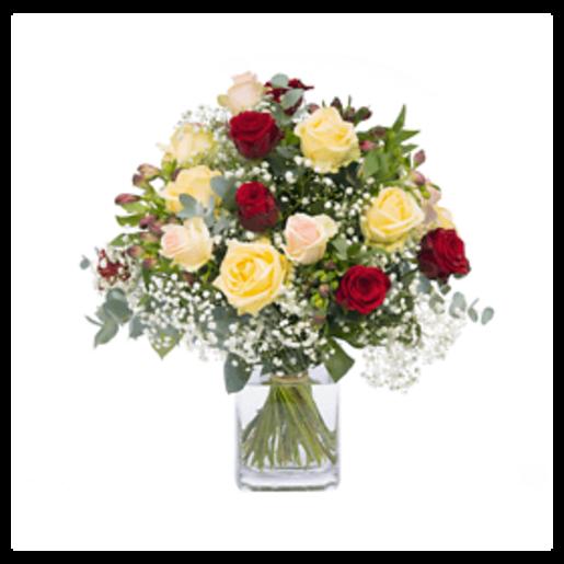 Romantischer Gruß - | Fleurop Blumenversand