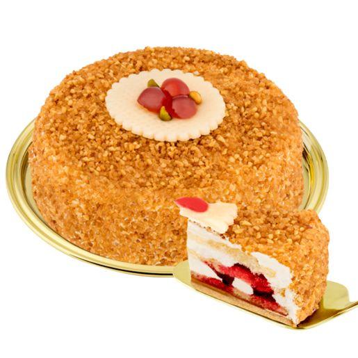 Dessert-Haselnusskrokant-Torte