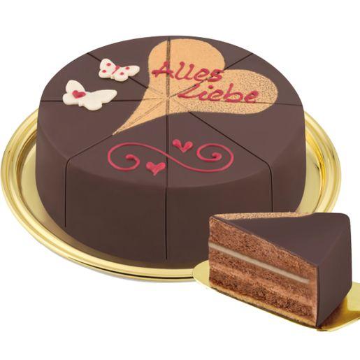 Dessert-Torte Alles Liebe