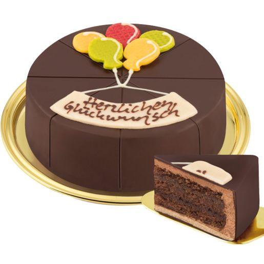 Dessert-Torte Herzlichen Glückwunsch