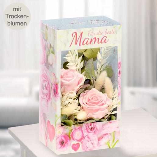 Blumenfenster Für die beste Mama