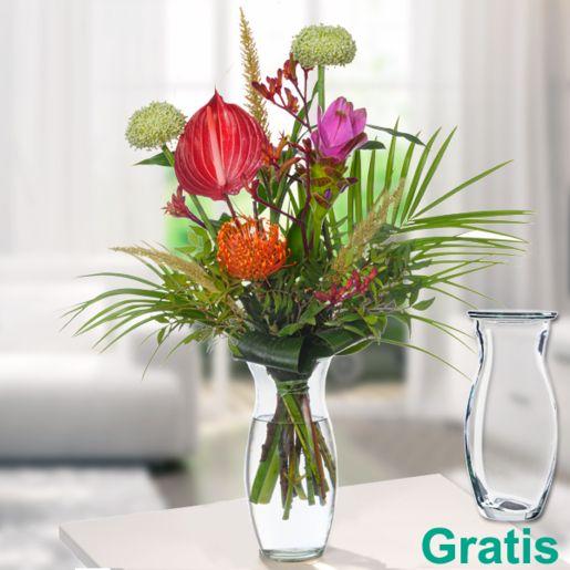 Blumenstrauß Exotica